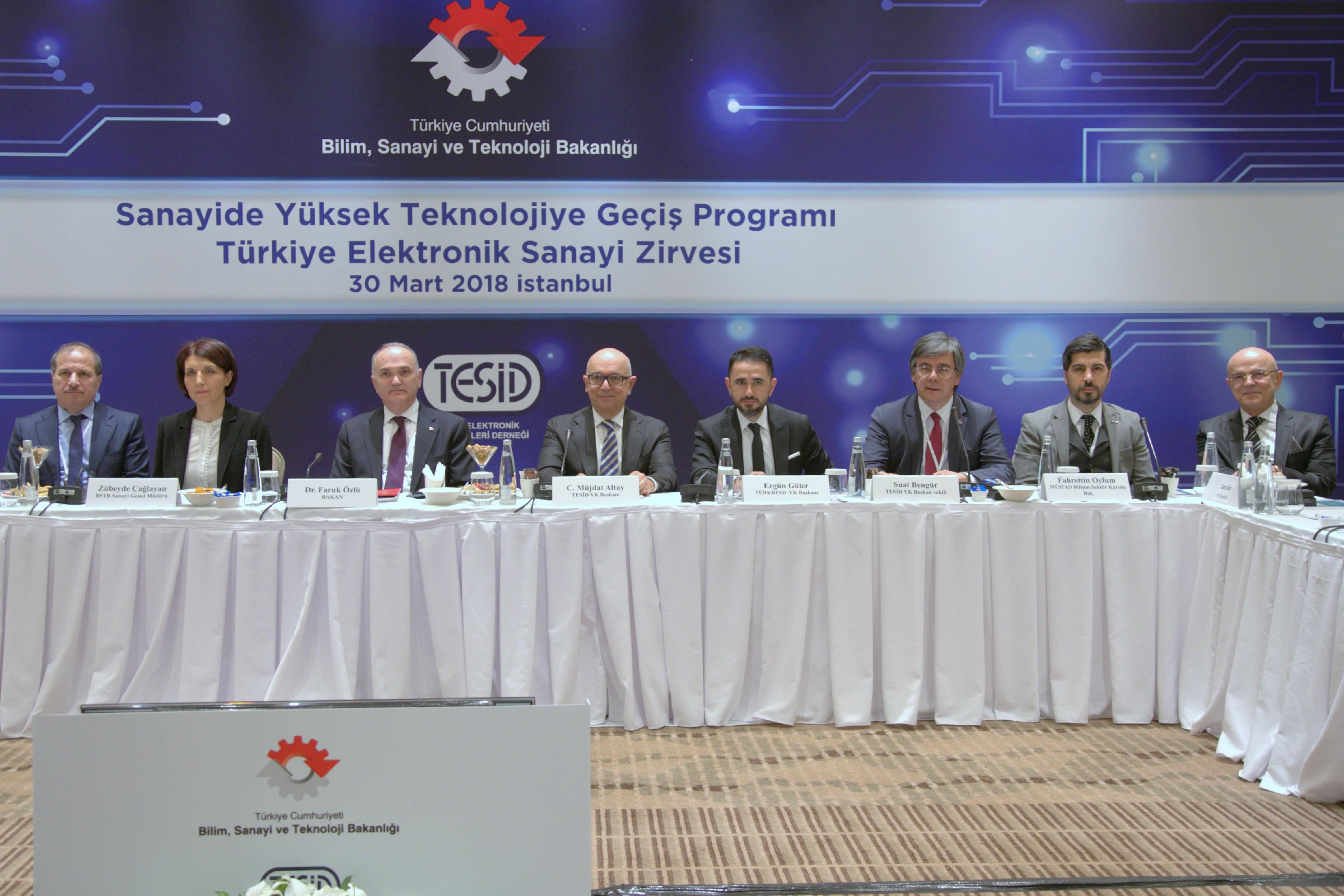 Türkiye Elektronik Sanayi Zirvesi Toplandı