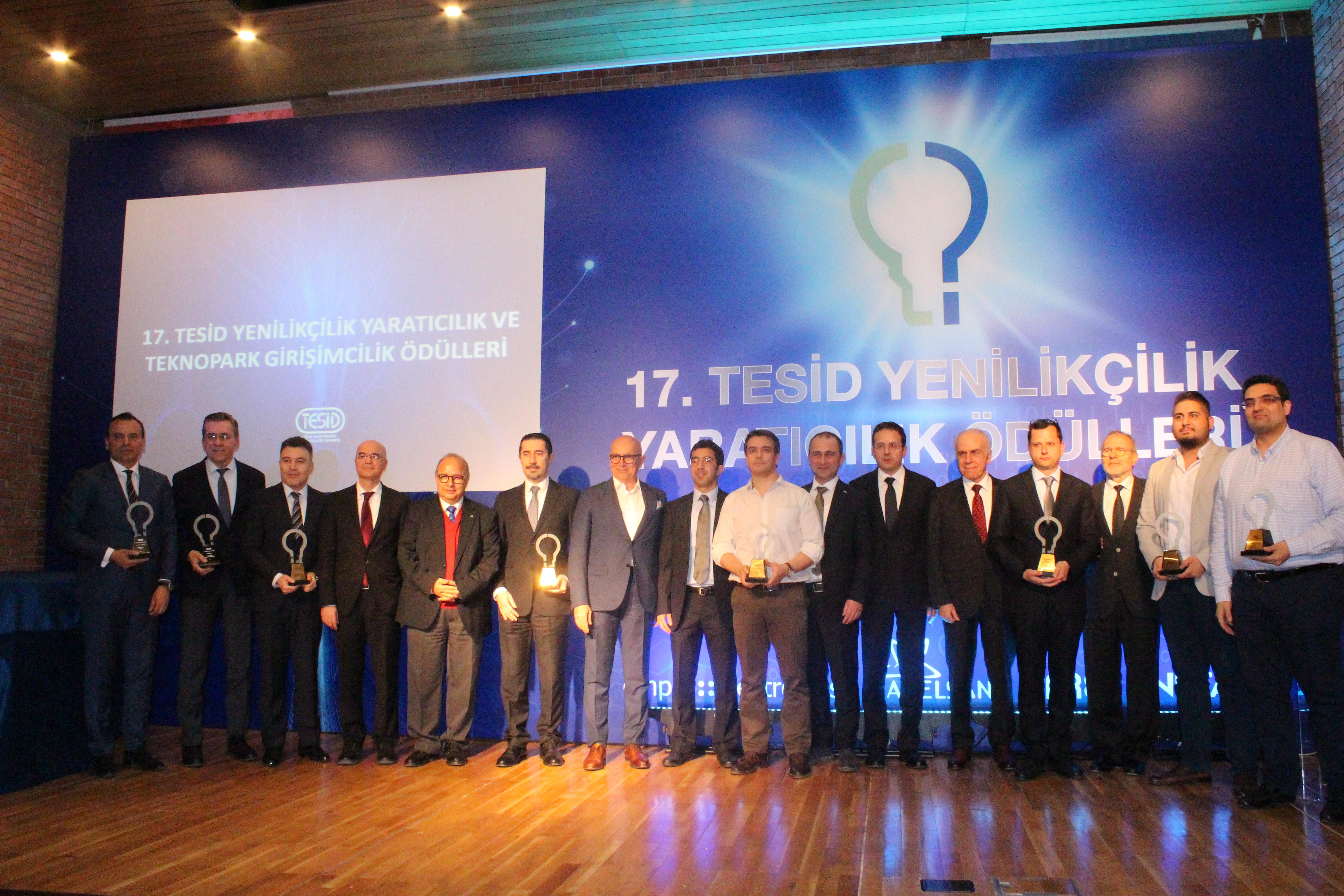 17. TESİD Yenilikçilik Yaratıcılık Ödülleri Verildi