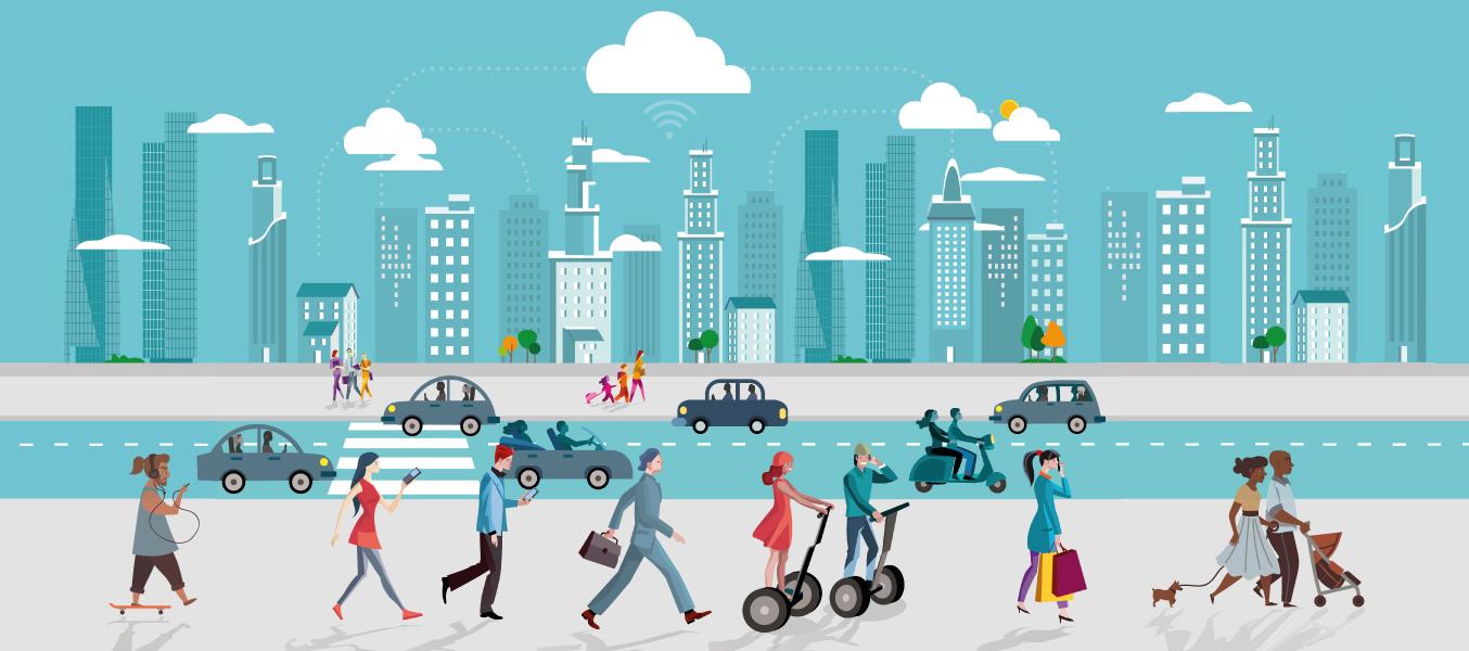 Şehirlerde Teknoloji ve İnsan