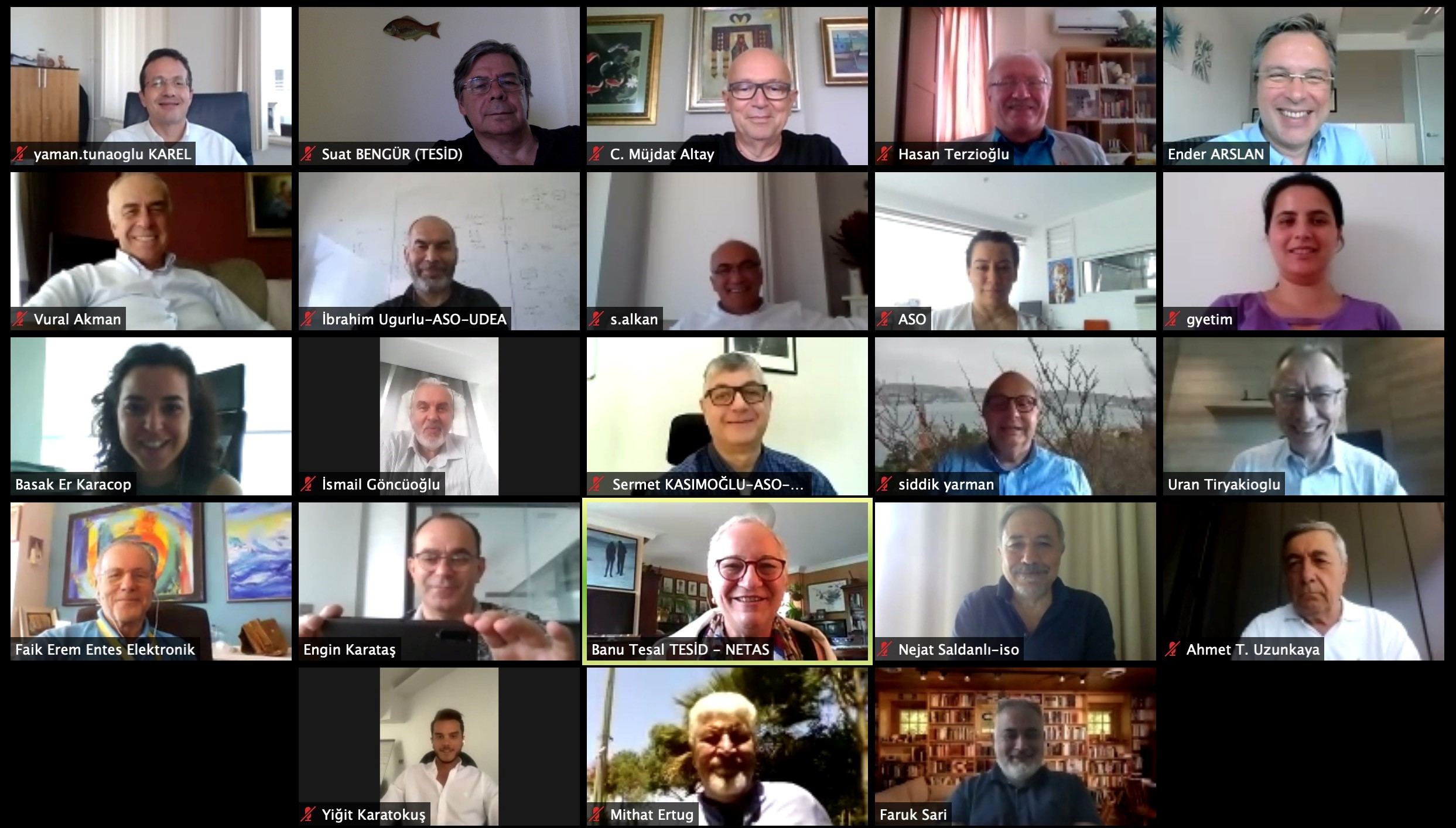 ASO-ISO-TESİD Toplantısı